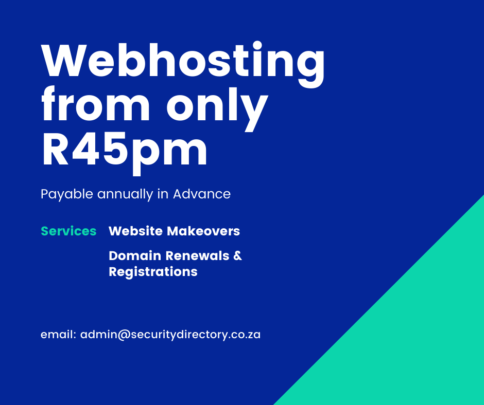 web hosting from R45 pm